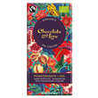 Chocolate and Love Pomegranate Organic Dark Chocolate - 80g Bar
