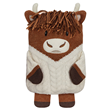 Aroma Home Microwaveable Highland Cow Hottie