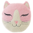 Aroma Home Pink Cat Sleepy Head - Microwaveable Hottie