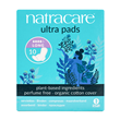 Natracare Ultra Pads With Wings - Long - 10 Pack