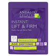 Andalou Instant Lift & Firm Facial Sheet Mask - 1 Mask