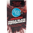 Lucy Bee Organic Fair Trade Black Peppercorns - 125g