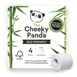 The Cheeky Panda Toilet Tissue - 4 Rolls
