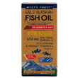 Wiley`s Finest Wild Alaskan Fish Oil - Beginner`s DHA for Kids - 125ml