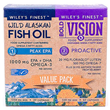Wiley`s Finest Peak EPA & Bold Vision: Proactive - Value Pack