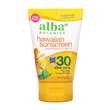 Alba Botanica Hawaiian Sunscreen SPF 30 - 113g