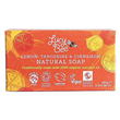 Lucy Bee Organic Lemon, Tangerine & Cinnamon Natural Soap - 150g