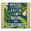 Faith in Nature Hemp Bar Soap - 100g