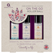Aroma Home Essential Oil Collection - On the Go Roller Ball - 3 x 10ml