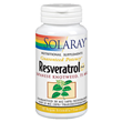 Solaray Resveratrol Plus - 30 Vegicaps