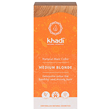 Khadi Natural Hair Colour Powder - Medium Blonde - 100g