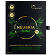 Neubria Zone - Gaming - 60 Capsules - Best before date is 31st March 2020