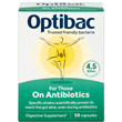 OptiBac Probiotics For those on Antibiotics - 10 Capsules