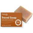 Friendly Soap Hair, Body & Laundry Travel Soap - 95g