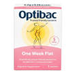 OptiBac Probiotics One Week Flat - 7 Sachets