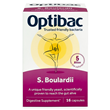 OptiBac Saccharomyces Boulardii - 16 Vegicaps