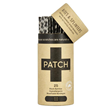 PATCH Natural Bamboo Strip Bandages with Activated Charcoal - 25 Pack