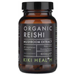 KIKI Health Organic Reishi Extract Mushroom - 60 x 400mg Vegicaps