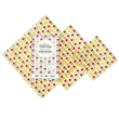 BeeBee Wraps - The Mixed Size Pack Beeswax Wraps (Tulip design)