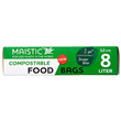 Maistic Compostable Food Bags - 8 Litre - 12 Bags