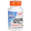 Natural Vitamin K2 - MenaQ7 - 60 x 45mcg Vegicaps