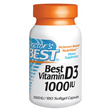 Best Vitamin D3 1000iu - 180 Softgels