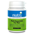 Nutri Advanced Multi Essentials for Men - 30 Tablets - Best before date is 30th November 2020