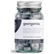 Georganics Natural Activated Charcoal Peppermint Flavour Toothpaste Tablets - 120 Tablets