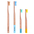 F.E.T.E. Bamboo Family Pack Toothbrushes - 4 Brushes