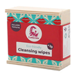 Lamazuna 10 Washable Cleansing Wipes in Wooden Box