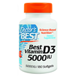 Best Vitamin D3 5000iu - 180 Softgels