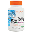 Best trans-Resveratrol 200 - 60 x 200mg Vegicaps