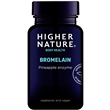 Higher Nature Bromelain Digestive Enzyme - 90 x 300mg Vegicaps