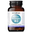 Viridian High Two Vitamin B2 with B-Complex - 30 Vegicaps