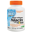 Time-Release Niacin with NiaXtend - 120 x 500mg Tablets