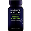 Higher Nature Rosehips C with Vitamin C - 90 Tablets