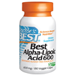 Best Alpha-Lipoic Acid - 180 x 600mg Vegicaps