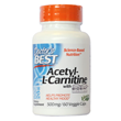 Best Acetyl L-Carnitine - 60 x 500mg Capsules