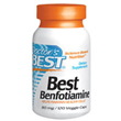 Benfotiamine - Vitamin B1 - 120 x 80mg Vegicaps