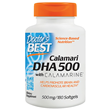 Calamari DHA 500 with Calamarine - 180 x 500mg Softgels