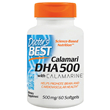 Calamari DHA 500 with Calamarine - 60 x 500mg Softgels