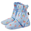 Aroma Home Feet Warmers - Rosebud Pattern - Powder Blue