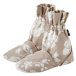 Aroma Home Feet Warmers - Meadow Pattern - Taupe