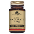 Solgar Zinc Picolinate 22mg - 100 Tablets