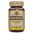 Solgar Prenatal Multi-Vitamin and Nutrients - 60 Tablets - Best before date is 31st March 2017