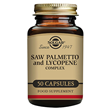 Solgar Saw Palmetto Opuntia and Lycopene - 50 Vegicaps