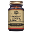 Solgar Megasorb Vitamin B-Complex - 250 Vegan Tablets - Best before date is 31st July 2021