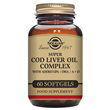 Solgar Super Cod Liver Oil Complex - 60 Softgels