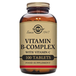 Solgar Vitamin B-Complex with Vitamin C - 100 Tablets