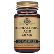 Solgar Alpha Lipoic Acid - 30 x 60mg Vegicaps